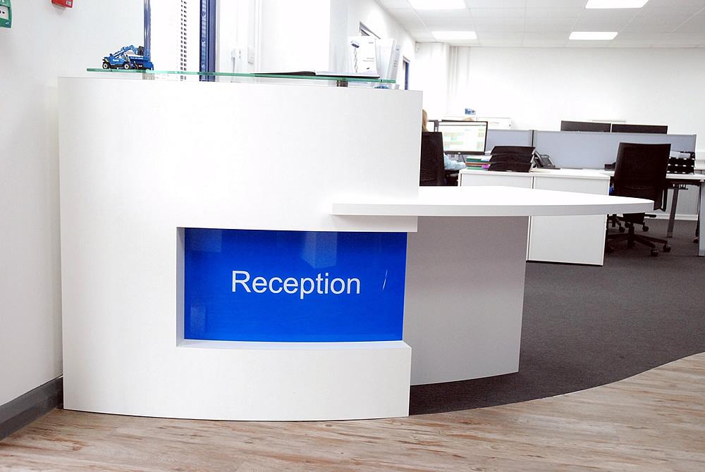 Work Platform Reception Desk