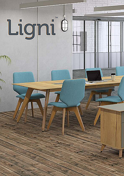 Ligni Office Furniture Brochure Cover