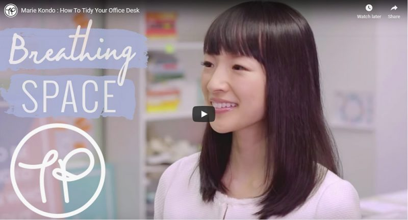 Does Marie Kondo have a place in the office?