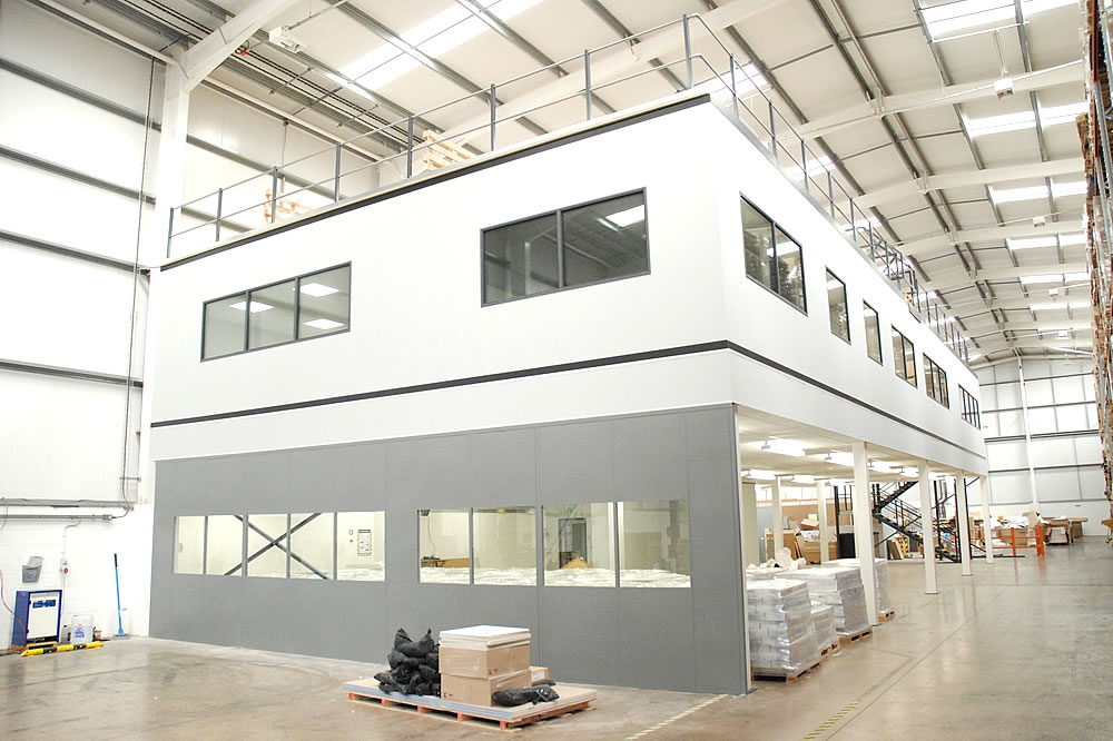 Expertise in mezzanine floors