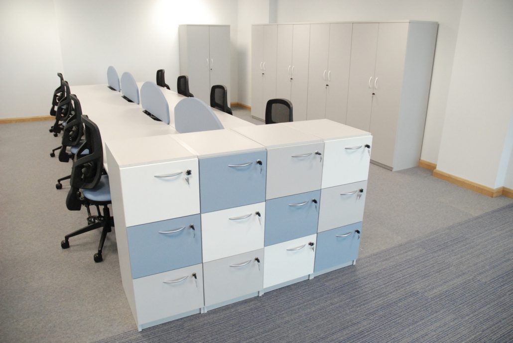 Extending office storage space