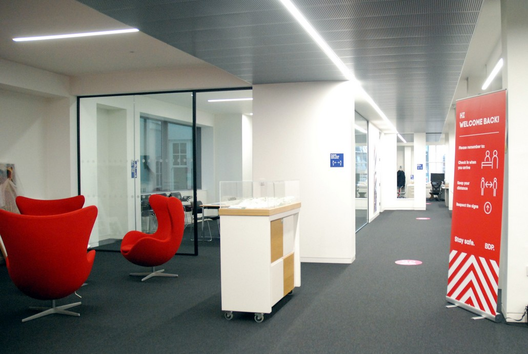 BDP Birmingham - Office Refurbishment 02