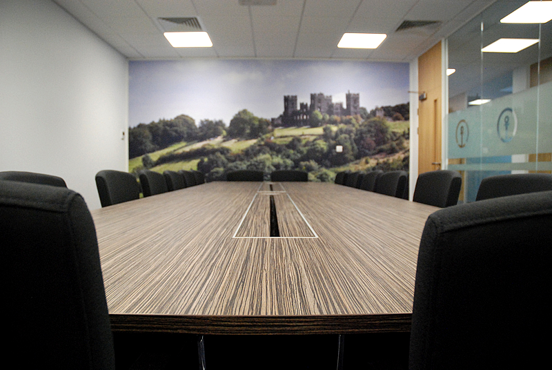 The Sky is the Limit with Office Wall Coverings