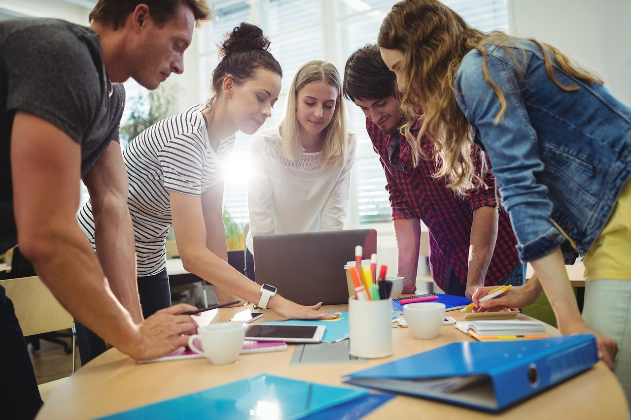 Making Collaborative Working Stress Free With Office Design